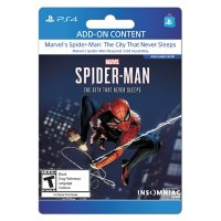 Marvel's Spiderman: The City that Never Sleeps (PlayStation 4) - Digital Code (Email Delivery)