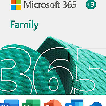 Microsoft 365 Family   15-Month Subscription, up to 6 people   Premium Office apps   1TB OneDrive cloud storage   PC/Mac Download