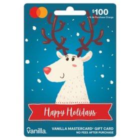 Holiday Vanilla Mastercard® $100 Gift Card