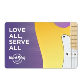 Hard Rock Café $25 eGift Card (Email Delivery)