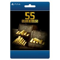 Red Dead Redemption:  2: 55 Gold Bars (PlayStation 4) - Digital Code (Email Delivery)