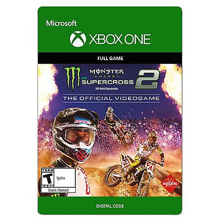 Monster Energy Supercross 2 (Xbox One) - Digital Code