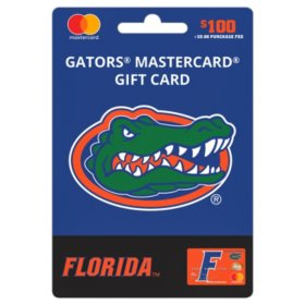 $100 UFan University of Florida Mastercard Gift Card
