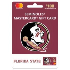 $100 UFan Florida State Mastercard® Gift Card