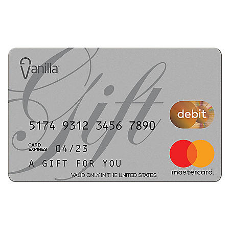 Vanilla eGift Mastercard Virtual Account - Various Amount (Email Delivery)
