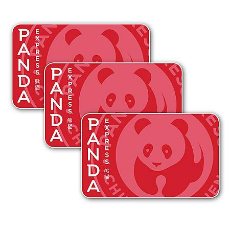 Panda Express $45 Value Gift Cards - 3 X $15
