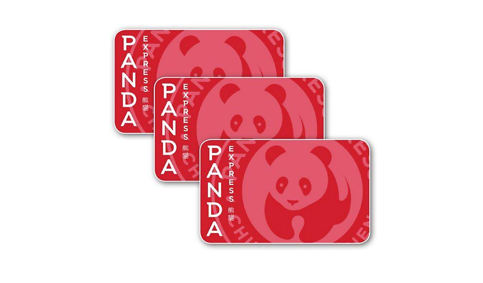 $45 (3 X $15) Panda Express Gift Cards