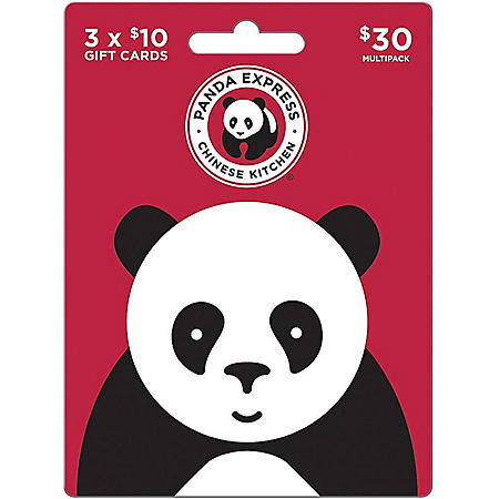 Panda Express $30 Gift Card Multi-Pack