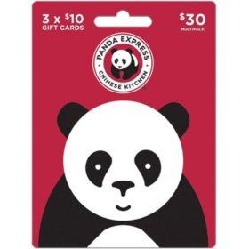 Panda Express $30 Gift Card Multi-Pack