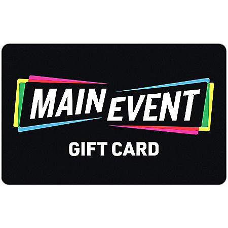 Main Event $25 eGift Card (Email Delivery)