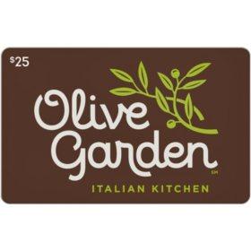 Olive Garden $50 Value Gift Cards - 2 x $25