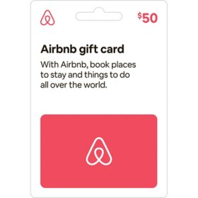 AIRBNB $50 Value Card