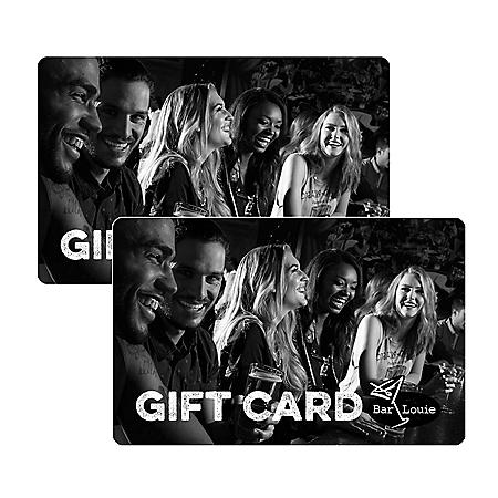 Bar Louie $50 Value Gift Cards - 2x $25