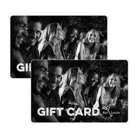 Bar Louie $50 Value Gift Cards - 2x $25