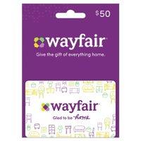 Wayfair $50 Value Gift Card