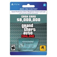 Grand Theft Auto Online: Megalodon Shark Cash Card (PlayStation 4) - Digital Code (Email Delivery)
