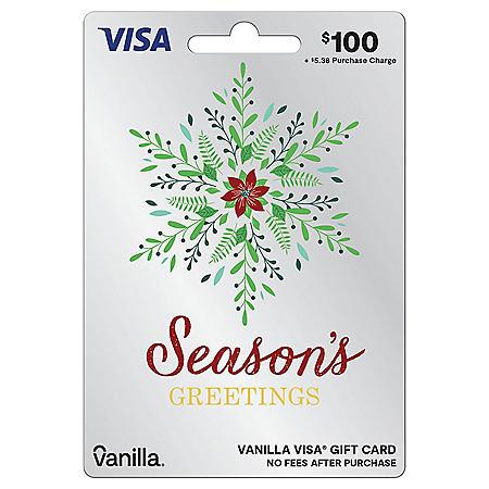 $100 Vanilla Visa® Gift Card by Visa
