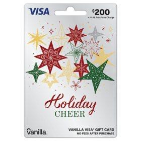 $200 Vanilla Visa® Holiday Gift Card