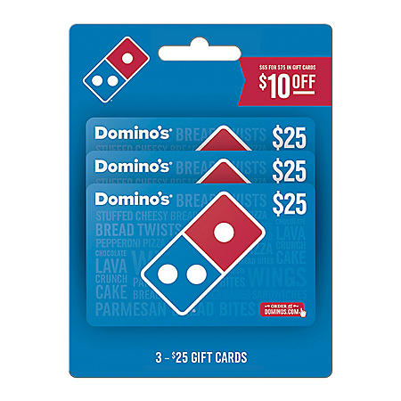 Domino's $75 Gift Card Multi-Pack for $65