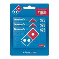 Domino's $75 Gift Card Multi-Pack for $65