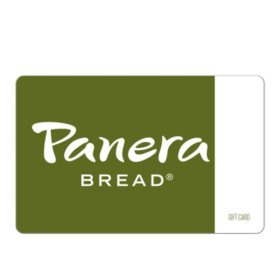 Panera eGift Cards - Various Amounts (Email Delivery)