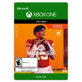 Madden NFL 20: Standard Edition (Xbox One) - Digital Code