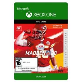 Madden NFL 20: Superstar Edition (Xbox One) - Digital Code