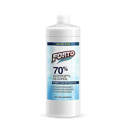 Isopropyl Alcohol 70% (1 quart)