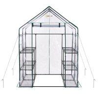 Ogrow Deluxe Walk-In 6-Tier 12-Shelf Portable Greenhouse