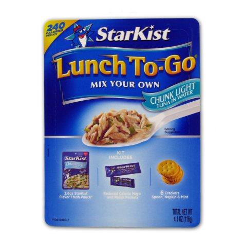 Starkist Tuna Lunch Kit - 4.1 oz. Kit - 12 ct.
