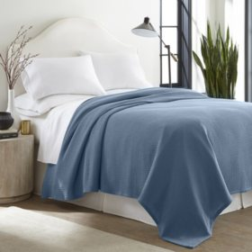 100% Cotton Thermal Blanket (Assorted Sizes and Colors)