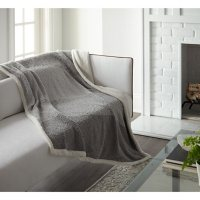 """Crafted by Catherine Ombre Eyelash Sherpa Throw, 50"""" x 60"""" (Assorted Colors)"""