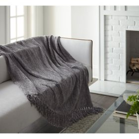 Crafted by Catherine Heavyweight Chenille Throw, 50x60 (Assorted Colors)