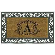 Bacova Koko Framed Monogram Doormat