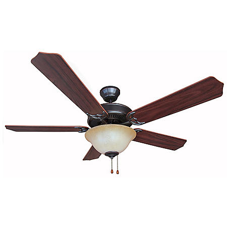 """Hardware House Dover 52"""" Ceiling Fan - Classic Bronze"""