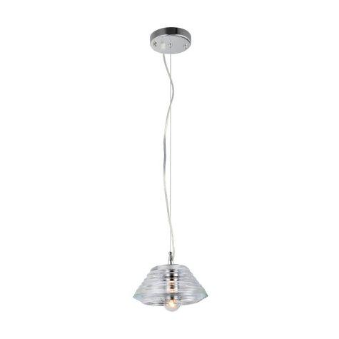 Hardware House Pressed-Glass Bowl Pendant Light Fixture