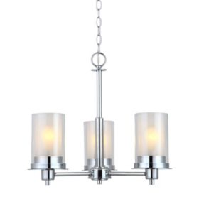 Hardware House Avalon Chrome Chandeliers (Multiple Options)