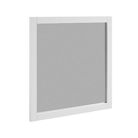 "Hardware House Shaker White 30"" x 30"" Mirror"