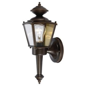 Hardware House Outdoor Square Coach Lantern - Classic Bronze