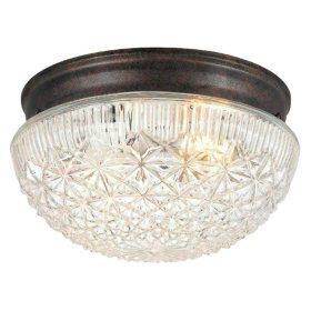 Hardware House 2-Light Ceiling Fixture - Classic Bronze