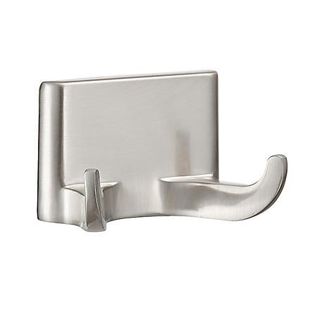 Hardware House Sunset Satin Nickel Double Robe Hook
