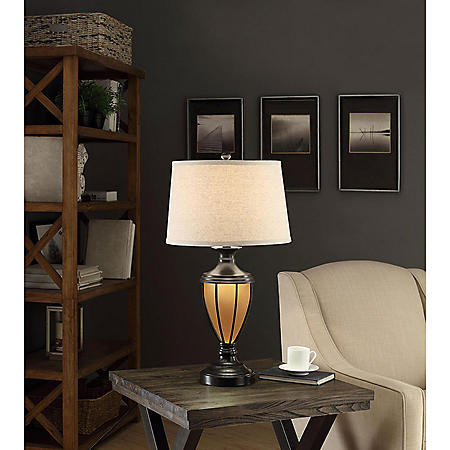 Fullerton Night Light Table Lamp Sam S Club