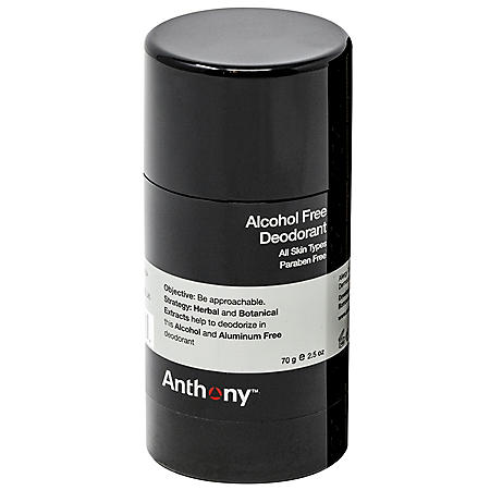 Anthony Alcohol Free Deodorant (2.5 oz.)