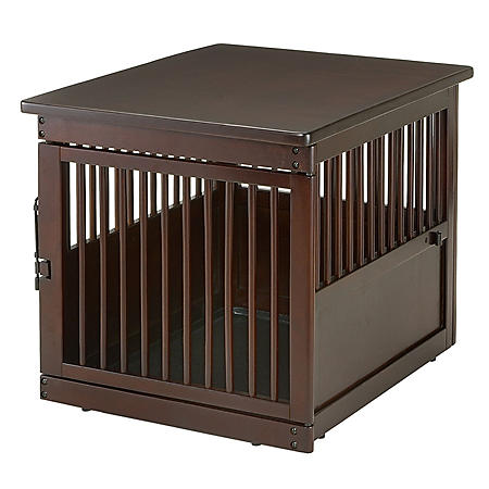 Richell Wooden End Table Crate (Choose Your Size)