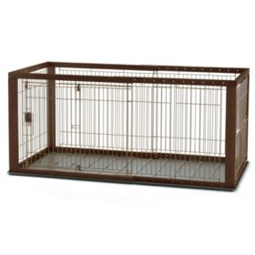 Richell Expandable Pet Crate (Choose Your Size)