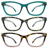 KEO Women's Martha Blue Light Filtering Glasses (3 pk.)