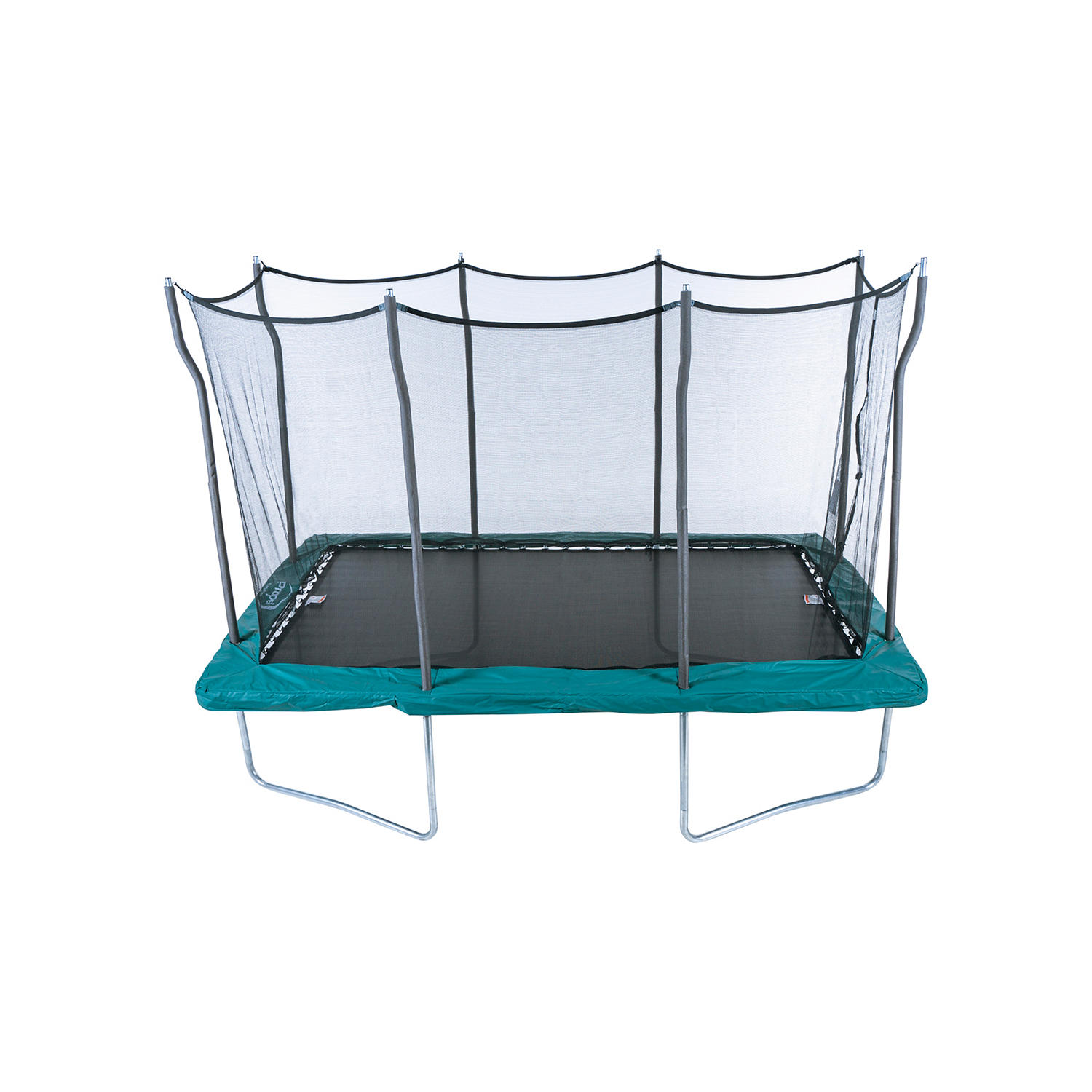 12′ x 8′ Rectangular Trampoline with Safety Enclosure