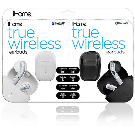 iHome Truly Wireless Earbud 2-Pack Bundle