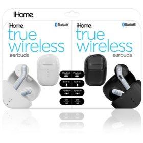 iHome Truly Wireless Earbud 2-Pack Bundle