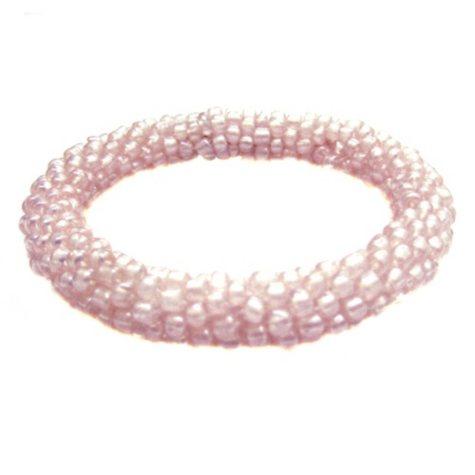 Beads of Hope Seed Bead Bracelet - Pink